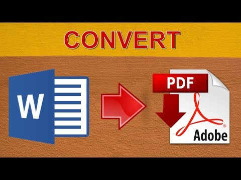 Online Convert A Word Document To PDF
