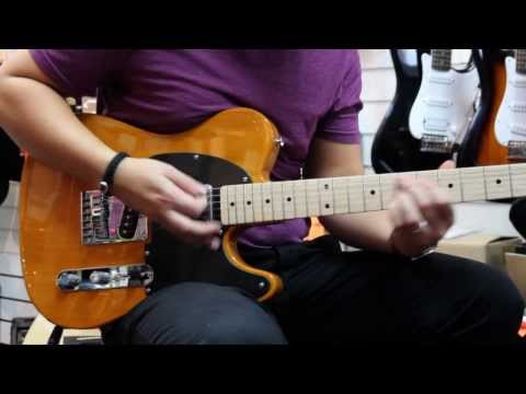 Squier Affinity Telecaster in Butterscotch Blonde