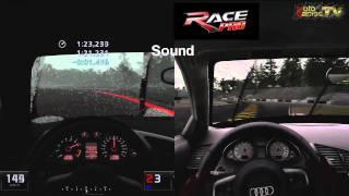 Gran Turismo 5 vs Race Pro - Monza at Rain