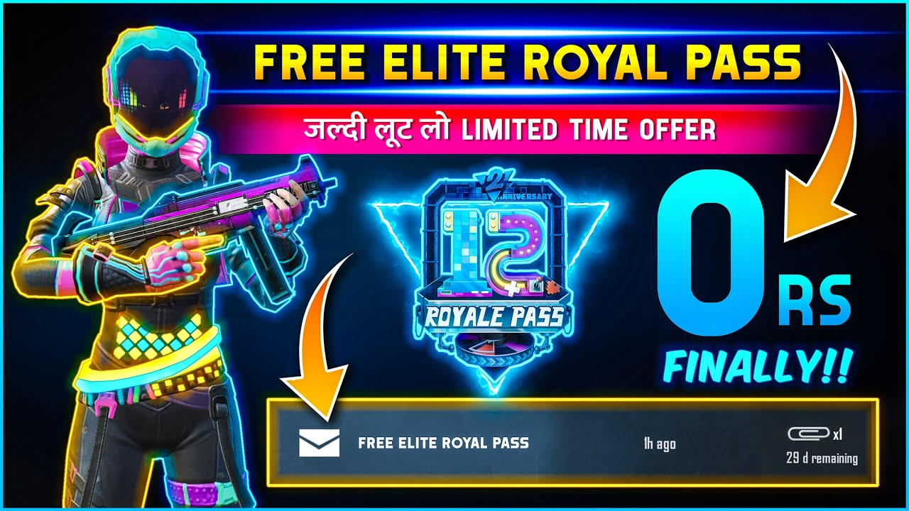 ?Live Proof. Trick to Get Free Season 12 Royal Pass in PUBG Mobile New PUBG UC App