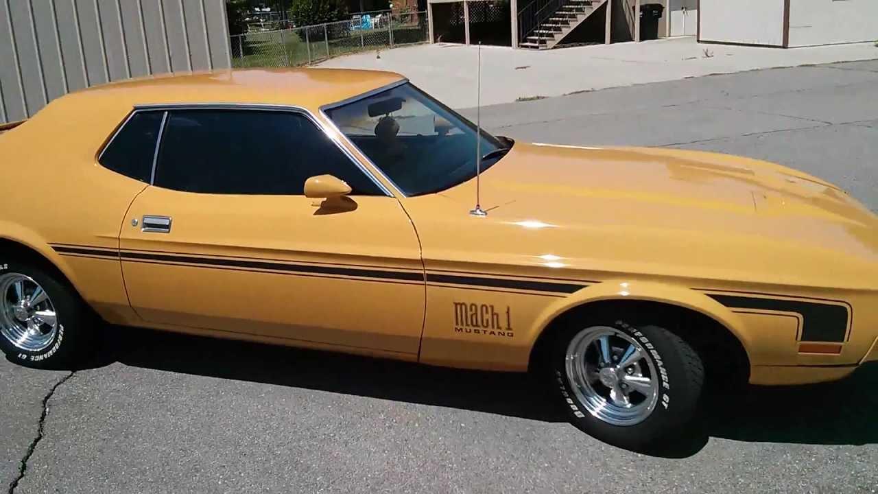 1971 Mustang Hardtop W Mach 1 Trim Youtube