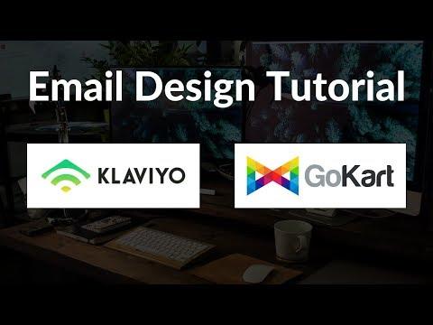 Klaviyo eCommerce Email Design Tutorial thumbnail