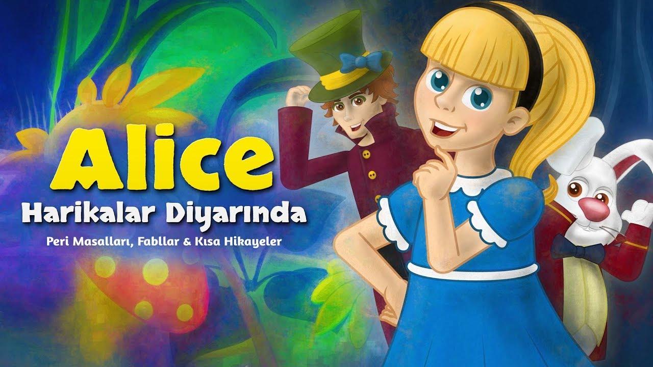 Alice Harikalar Diyarında - Çizgi Film Masal