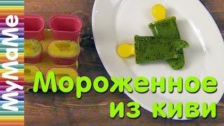 Мороженное из киви - простой рецепт фруктового льда из киви