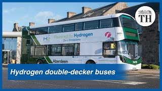 World's first hydrogen powered double-decker buses
