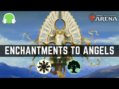 The overpowering power of Enchantments (and Angels) | M21 Historic Deck Guide (MTG Arena)