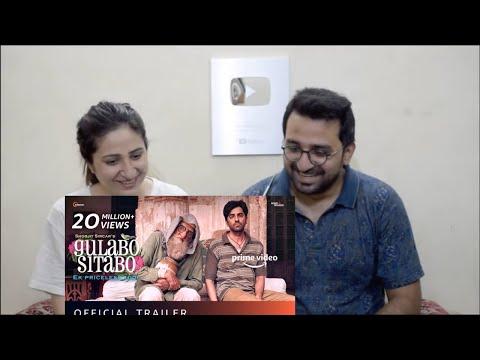 Pakistani Reacts to Gulabo Sitabo - Official Trailer | Amitabh Bachchan, Ayushmann Khurrana, Shoojit