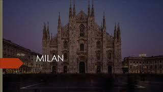 Italia. Video de promocioón turística