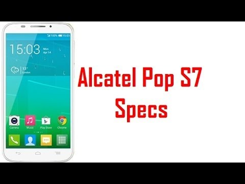 Alcatel Pop S7 Specs & Features