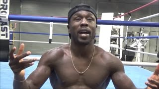 (EPIC) ANDRE BERTO GIVES CONOR MCGREGOR BEST ADVICE FOR MAYWEATHER CLASH; BREAKS DOWN FIGHT