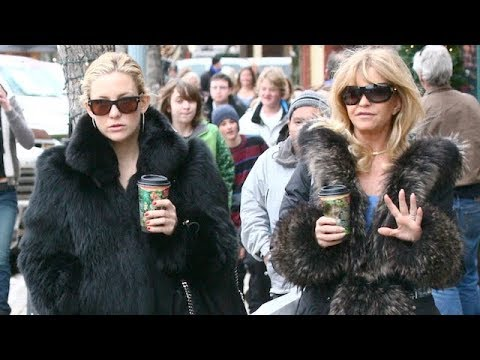 Goldie Hawn Flies To Aspen To Comfort Sullen Kate Hudson After A-Rod Break Up [2009]