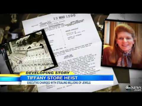 Tiffany's Exec Allegedly Stole Millions in Jewels
