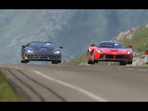 Lamborghini Centenario vs Ferrari LaFerrari at Highlands