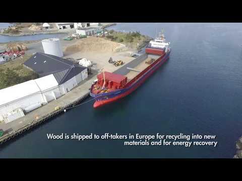 Geminor Waste Treatment HUB at Storøy, Norway