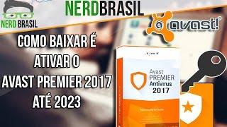 Como baixar e ativar Avast premier 2017 até 2023