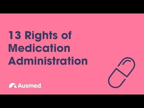 13 Rights of Medication Administration | Ausmed Explains...