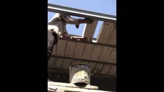 طريقة مبتكرة في سقف البيوت بالثرمستون