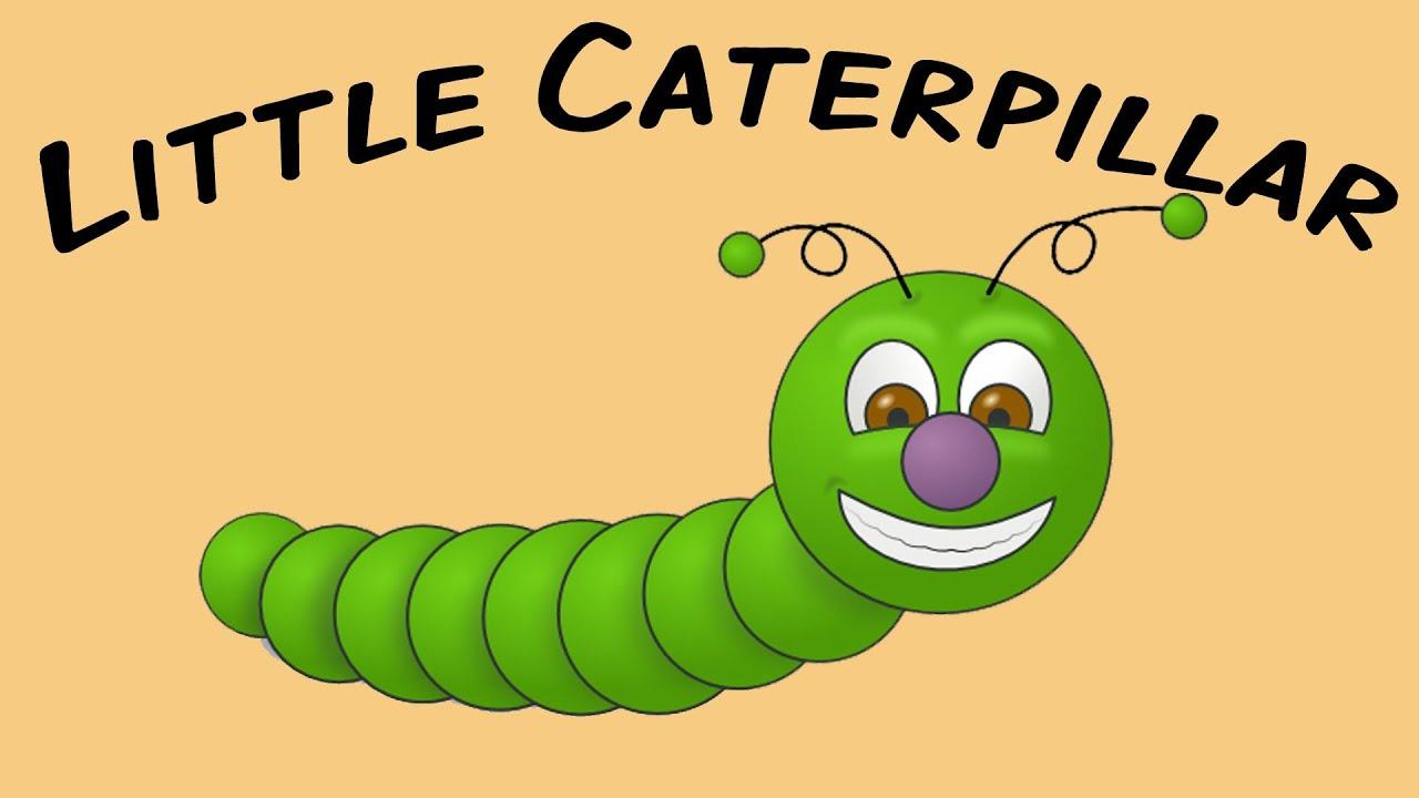 Little Caterpillar | sign language fingerplay for children - YouTube