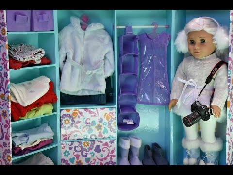 American Girl Doll Travel Trunk and Packing for American Girl Doll
