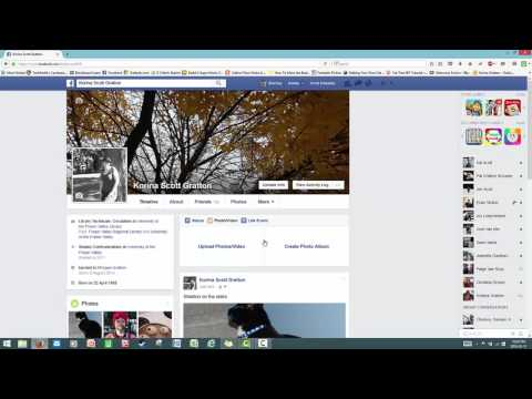 How to put a caption on a facebook cover photo