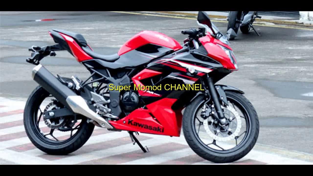 Modifikasi Modif Ringan Ninja Rr Mono Keren Youtube New Vario 125 Esp Cbs Iss Sonic White Red Solo