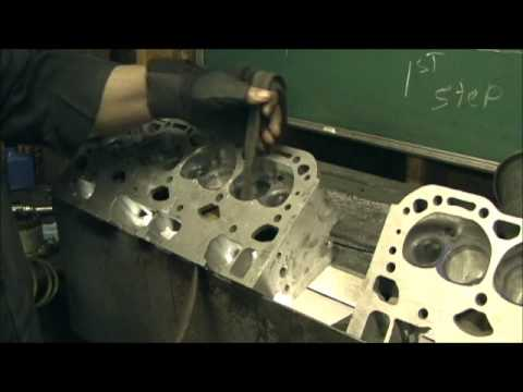 LT-1 SBC Cylinder Head Stage IV   Part 7.1