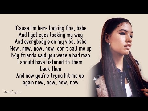 Mabel - Don't Call Me Up (Lyric Video) - YouTube