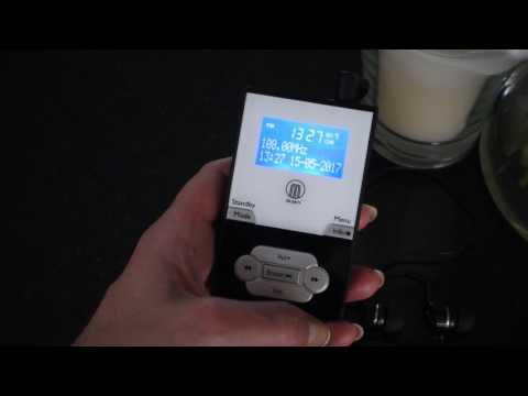 New Model 2017 Majority Parkside DAB Pocket Radio Video User Guide
