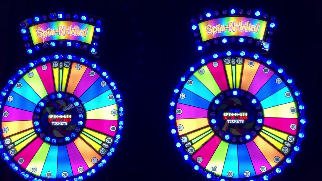 Spin-N-Win - Arcade Game Part 2 at Dave & Buster's in Salt Lake City Utah