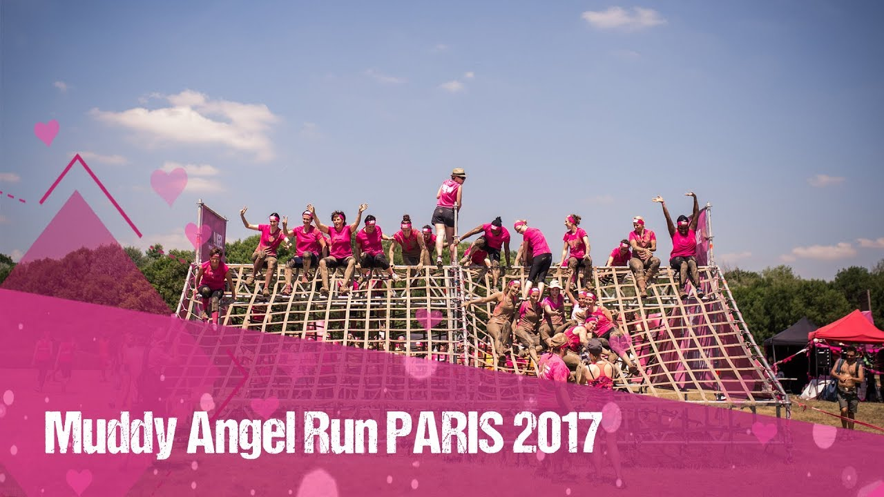 muddy angel run paris 2017 youtube. Black Bedroom Furniture Sets. Home Design Ideas