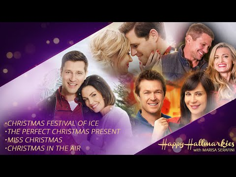 Christmas Festival Of Ice, Miss Christmas, Christmas In The Air - Happy Hallmarkies