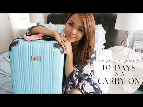 How To Pack: 10 Days in a Carry On | March in Italy | Charmaine Dulak thumbnail