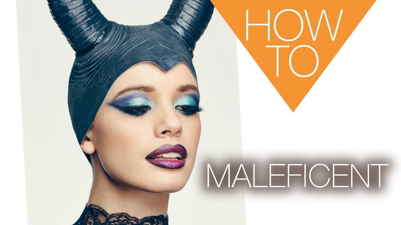 The new maleficent halloween how to makeup tutorial youtube the new maleficent halloween how to makeup tutorial baditri Gallery