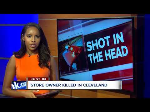 Cleveland business owner shot and killed in robbery