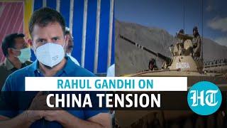'Won't need Army, Navy, Air Force if...': Rahul Gandhi slams PM Modi over China