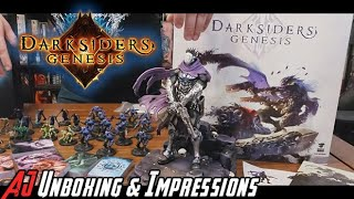 AJ Plays & Unboxes Darksiders Genesis: Nephilim Edition!
