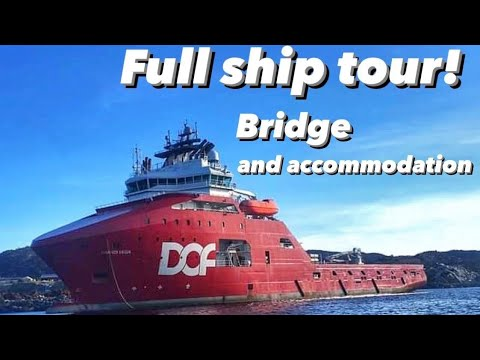 Full Ship Tour! The Bridge and Accommodation!