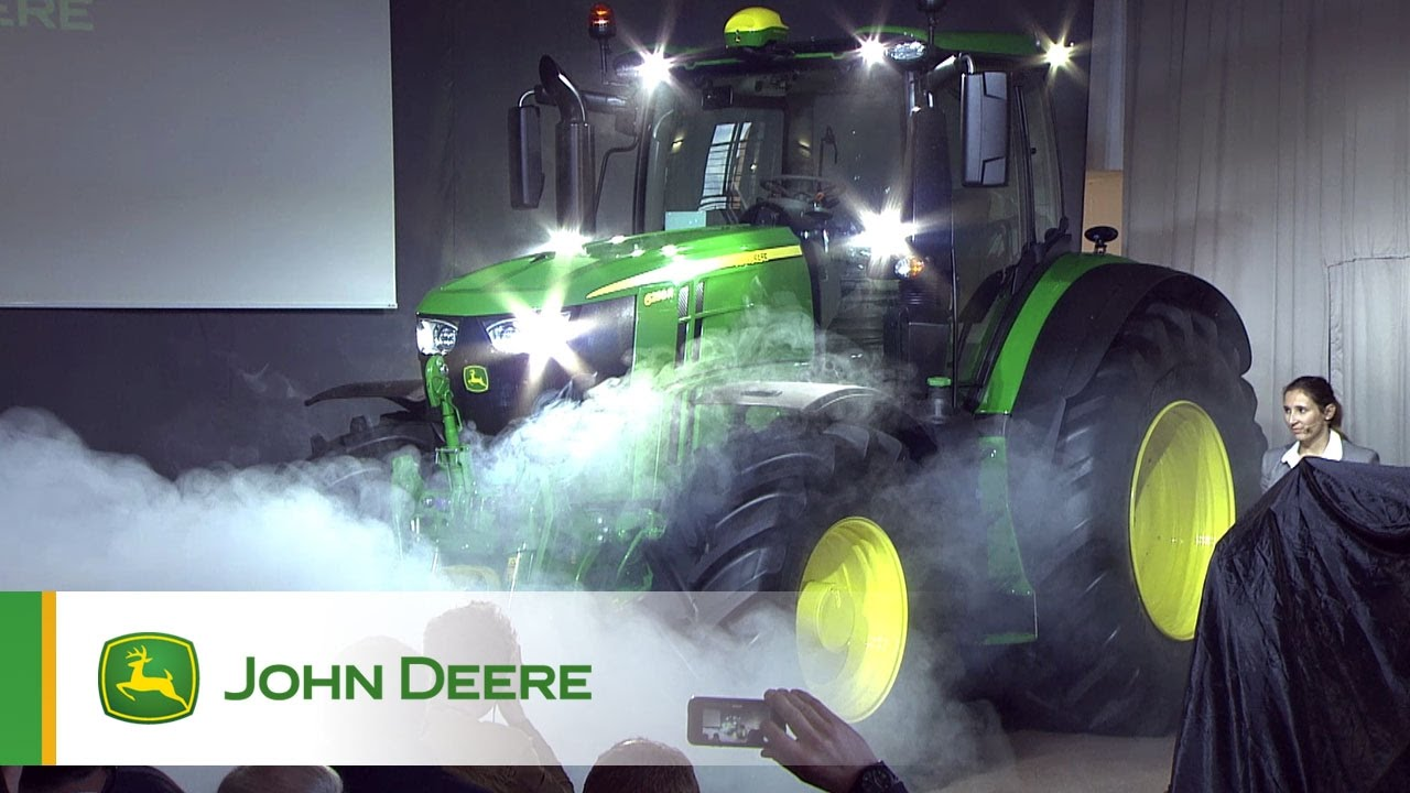 new john deere 6230r and 6250r introduction to the press youtube