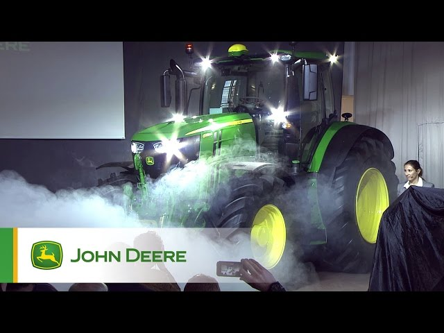 New John Deere 6230R and 6250R - introduction to the press
