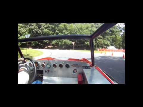 Duryea Hillclimb 2013  Merlin Miller Sunbeam Tiger touring run