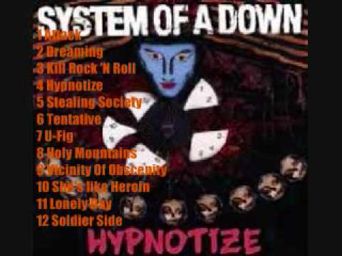 system of a down hypnotize album song list youtube