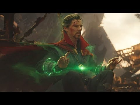Dr.Strange Sees The Future Scene - Avengers: Infinity War (2018) HD