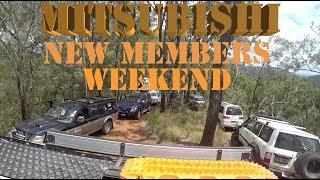 A typical Mitsubishi Club New Members weekend