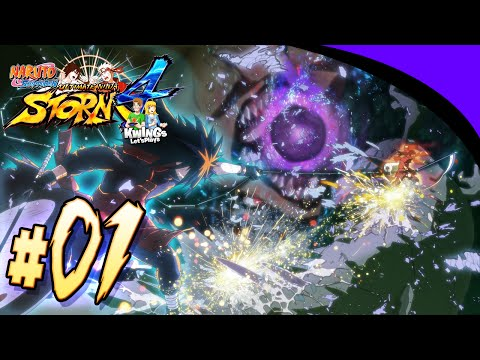 Naruto Shippuden Ultimate Ninja Storm 4: Ep 1 The Great Ninja Fight!