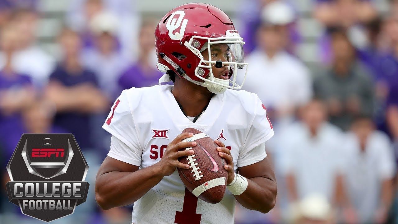 Kyler Murray's 4 TDs lead No. 9 Oklahoma Sooners past TCU Horned Frogs | College Football Highlights