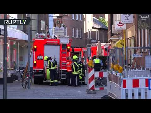 Several killed, dozens injured after vehicle plows into crowd in Muenster, Germany