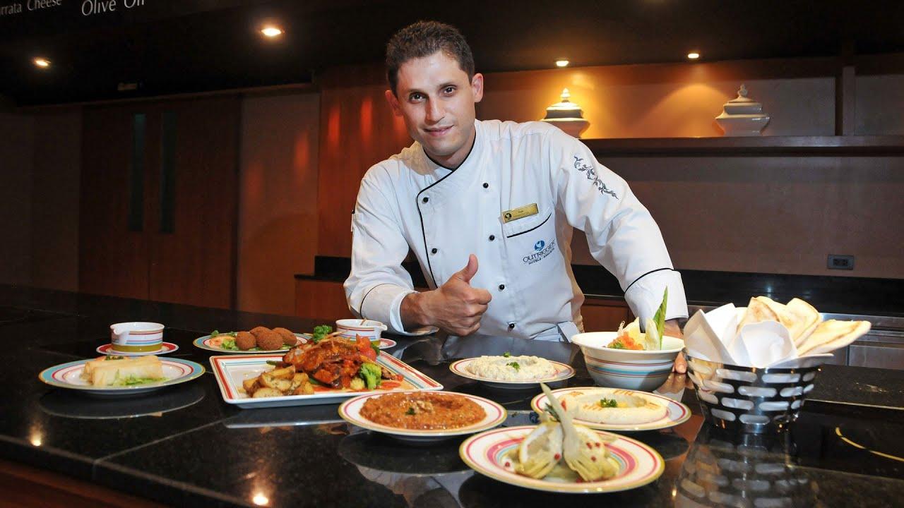 Chef Mustapha Haj Omar Master of Mediterranean Cuisine
