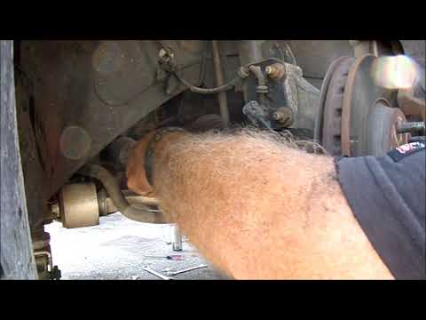 How to install rack & pinion on a pontiac g6