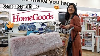 Come shop with me at HOMEGOODS + Haul!   October 2019