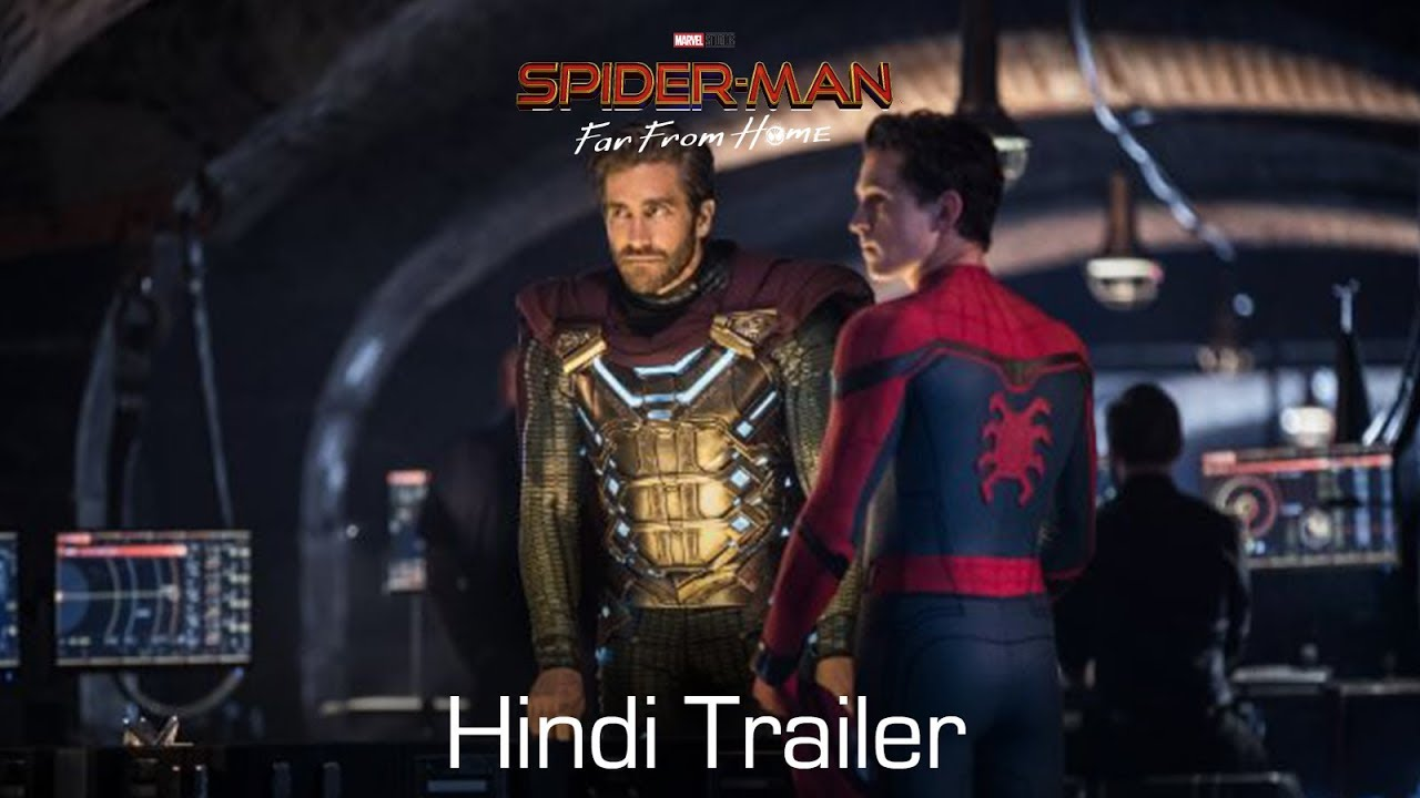 Download SPIDER-MAN: FAR FROM HOME - Official Trailer | Hindi | In Cinemas July 5